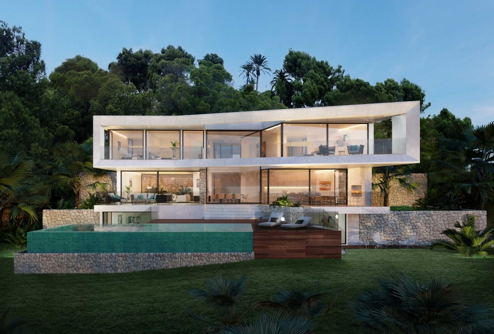 Visualisierungen Villa Bella Vista, Mallorca - Fix Visuals